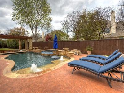 Round Rock Single Family Home For Sale: 1743 West End Pl