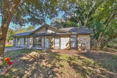 Cedar Park Single Family Home For Sale: 3307 Valley Pike Rd