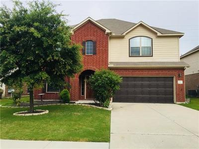 Hutto Single Family Home For Sale: 2007 S Ash Cv