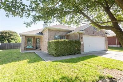 Round Rock Single Family Home For Sale: 103 Pheasant Rdg