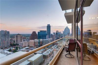 Austin Condo/Townhouse For Sale: 555 E 5th St #2906