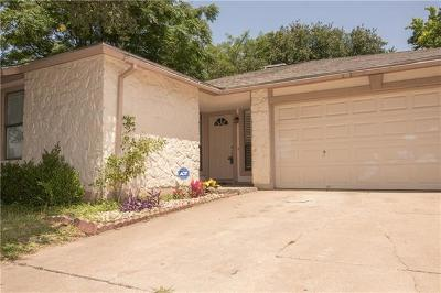 Round Rock Single Family Home For Sale: 1304 Wayne Dr
