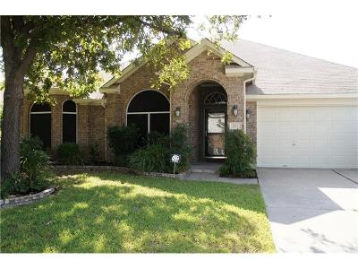 Pflugerville Single Family Home Pending - Taking Backups: 723 Geyser Ave