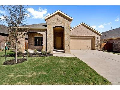 Pflugerville Single Family Home For Sale: 16436 Vescovo Dr