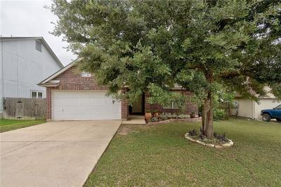 Round Rock Single Family Home Pending - Taking Backups: 2715 Vinson Ct