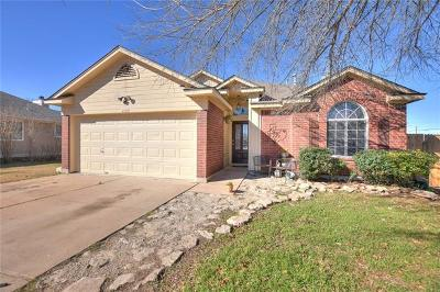 Leander Single Family Home Pending - Taking Backups: 1105 Nightshade Ln