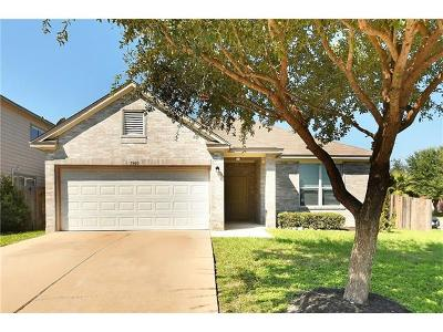 Hays County, Travis County, Williamson County Single Family Home For Sale: 7900 Running Water Dr