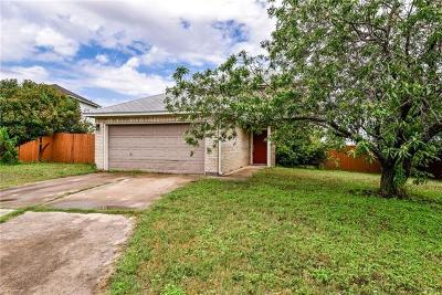 Leander Single Family Home For Sale: 1101 Sunflower Ct
