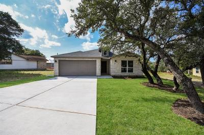 Lago Vista Single Family Home For Sale: 21806 Tallahassee Ave