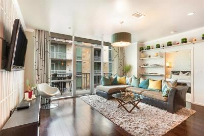Austin Condo/Townhouse For Sale: 1600 Barton Springs Rd #6205