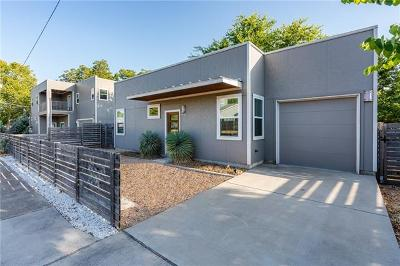 Austin Single Family Home For Sale: 7518 Carver Ave #B