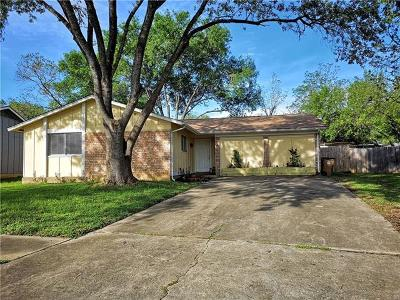 Austin Single Family Home For Sale: 2912 Dillion Hill Dr