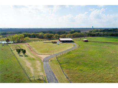 Hutto Farm For Sale: 150 Mustang Dr