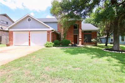 Round Rock Single Family Home For Sale: 2996 Overland St