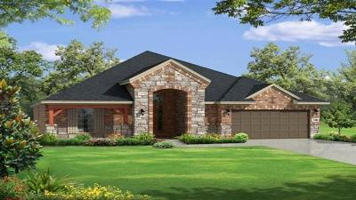 Leander Single Family Home For Sale: 2813 Wax Myrtle Cv