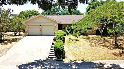 Pflugerville Single Family Home For Sale: 1511 Gatlinburg Dr