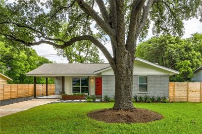 Austin Single Family Home For Sale: 1508 Weyford Dr