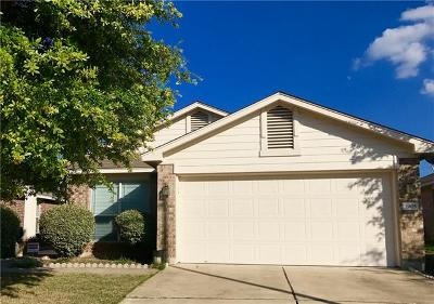 Pflugerville Single Family Home For Sale: 1905 Golden Sunrise Ln