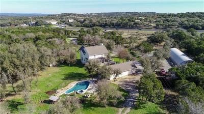 Spicewood Single Family Home For Sale: 22701 W State Highway 71 Hwy