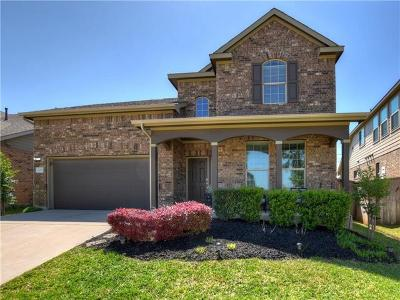 Round Rock Single Family Home For Sale: 2003 Autumn Run Ln