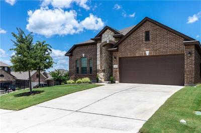 Leander Single Family Home For Sale: 2237 Hilltop Climb Dr