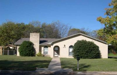 Harker Heights Single Family Home For Sale: 206 Evergreen Dr