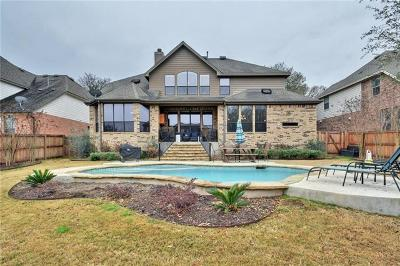 Round Rock Single Family Home For Sale: 3416 Citrine Pl