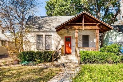 Austin Single Family Home For Sale: 4108 Burnet Rd