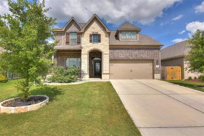 Round Rock Single Family Home For Sale: 8217 Arezzo Dr