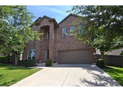 Round Rock Single Family Home For Sale: 4397 Green Tree Dr