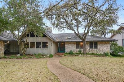 Austin Single Family Home Pending - Taking Backups: 3707 Hidden Holw