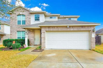 Leander Single Family Home For Sale: 1116 Henderson Dr