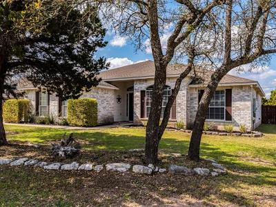 Liberty Hill Single Family Home Pending - Taking Backups: 504 Speed Horse