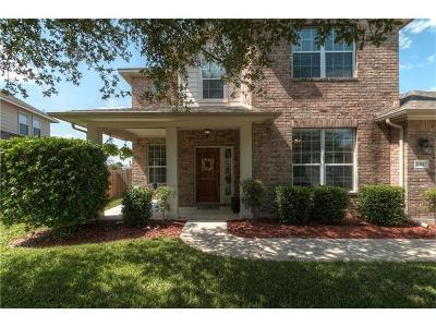 Cedar Park Single Family Home For Sale: 1311 Silverado Trl