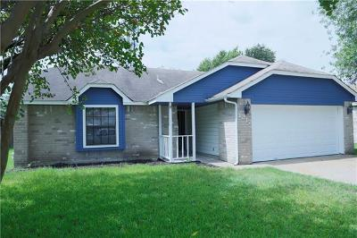 Pflugerville Single Family Home For Sale: 1217 Pigeon Forge Rd