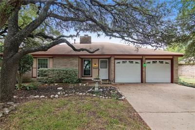 Round Rock Single Family Home For Sale: 1603 Woodhill Dr