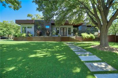 Austin Single Family Home For Sale: 3412 Bonnie Rd