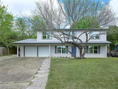 Austin Single Family Home For Sale: 6806 Kings Pt