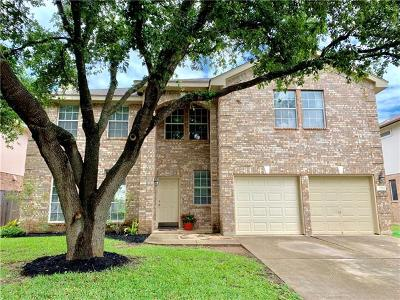 Cedar Park Single Family Home For Sale: 2215 Bent Bow Dr