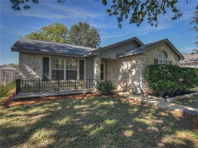 Burnet County Single Family Home Pending - Taking Backups: 302 Avenue Q