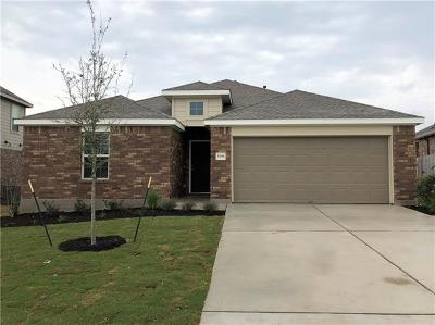 Round Rock Single Family Home For Sale: 5795 Corsica Loop