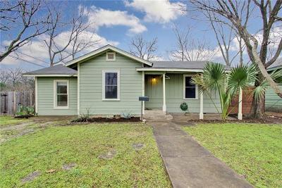 Travis County Single Family Home Pending - Taking Backups: 212 Nelray Blvd