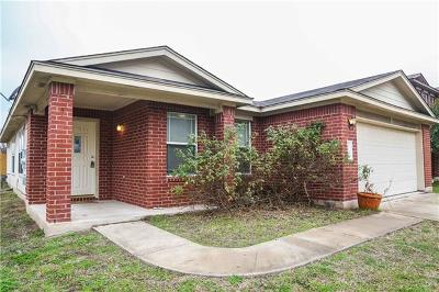 Hutto Single Family Home For Sale: 117 Edison Dr
