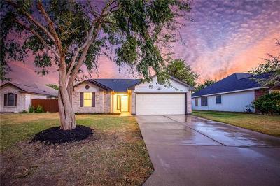 Leander Single Family Home For Sale: 804 Lantana Ln