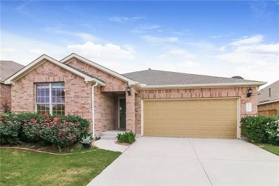 Round Rock  Single Family Home For Sale: 3021 Angelina Ct