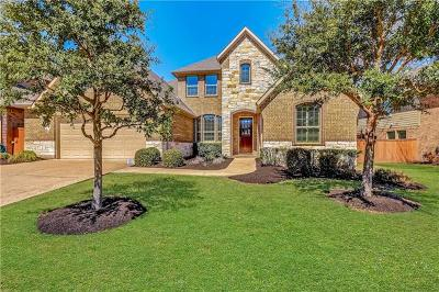 Leander Single Family Home For Sale: 2921 Wedgescale Pass
