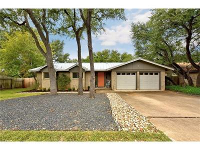 Austin TX Single Family Home For Sale: $1,049,000