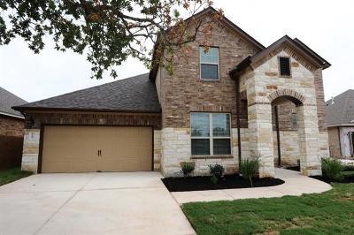 Leander Single Family Home For Sale: 2304 La Mirada St