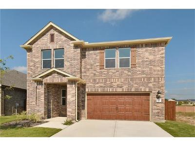 Round Rock Single Family Home For Sale: 2471 Sunrise Rd #9