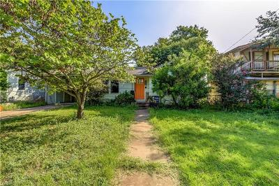 Travis County Single Family Home Pending - Taking Backups: 2008 Alegria Rd